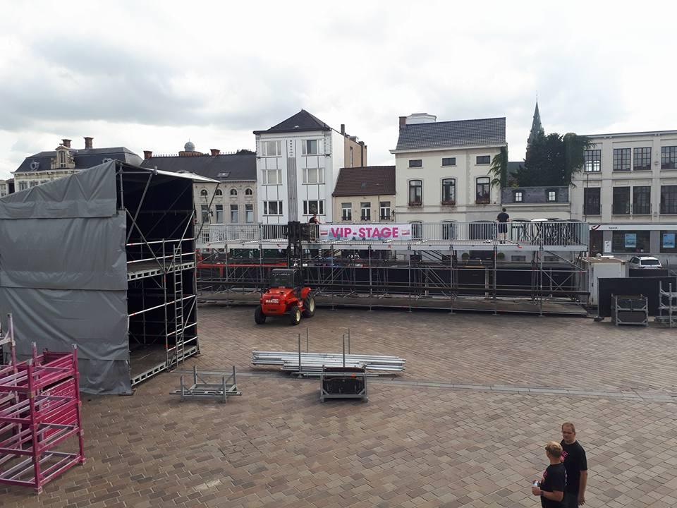vip-stage en bar Ronse 2017