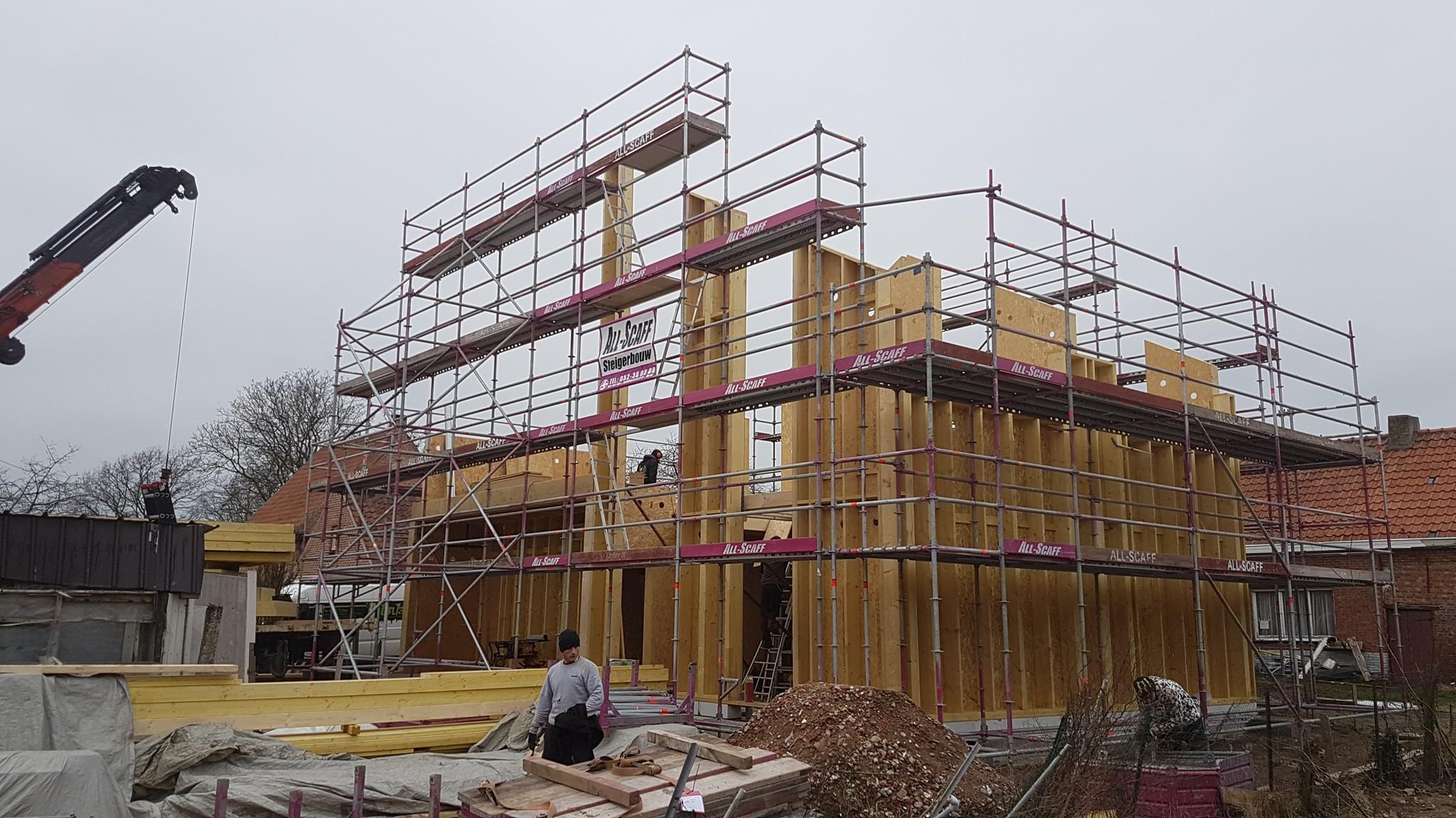 houtconstructiebouw Waasmunster 2018